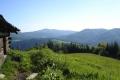 widok na Mogielicę z polany Jaworzynka
