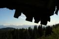 panorama Niżnych Tatr z przełęczy pod Kralową