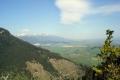 panorama Tatr z Liptowskiego Hradu -1000m