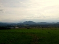 panorama Gór Kaczawskich i Karkonoszy