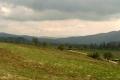 Góry Lewockie w oddali nad Doliną Popradu