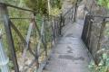 metalowe schody na szczyt Sokolika