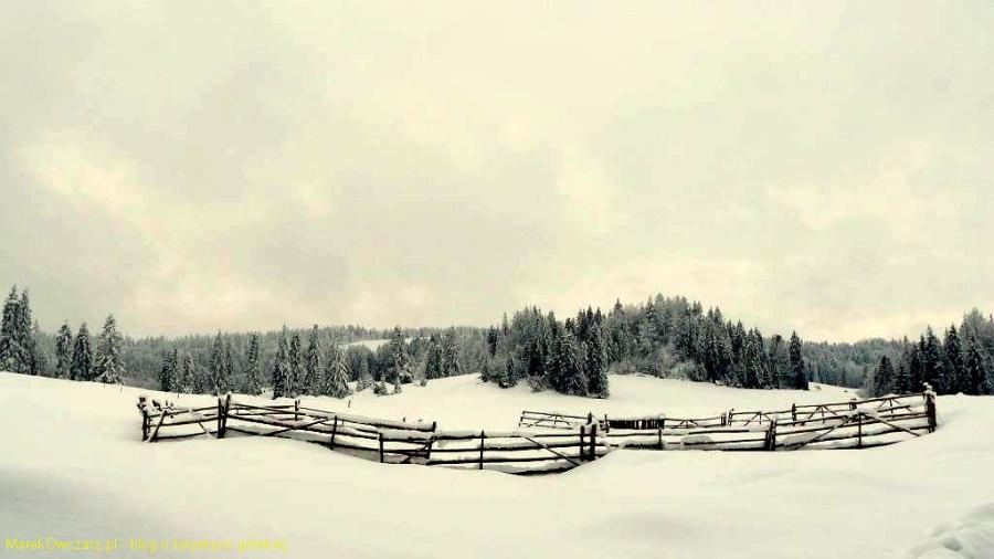 krajobraz Małych Pienin
