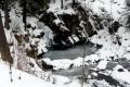 lodowy wodospad Zaskalnik