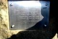 tablica na szczycie Jałowca