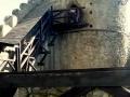 wejście na wieżę ruin zamku Chojnik