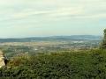 widok z zamku w stronę Jeleniej Góry