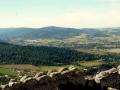 widok na Izerski grzbiet