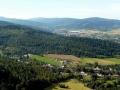 panorama Karkonoszy i Wysokiego Grzbietu