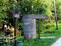 rozdroże przy wodospadach w Podgórnej