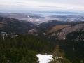 widok na Myślenickie Turnie, Zakopane, Nosal i Gorce