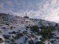 Kasprowy Wierch pod błękitem nieba