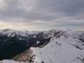 panorama Tatr Zach. z Kasprowego