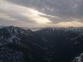 jezioro chmur na końcu Doliny Cichej