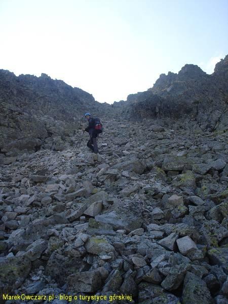 podejście na Huncowską przełęcz