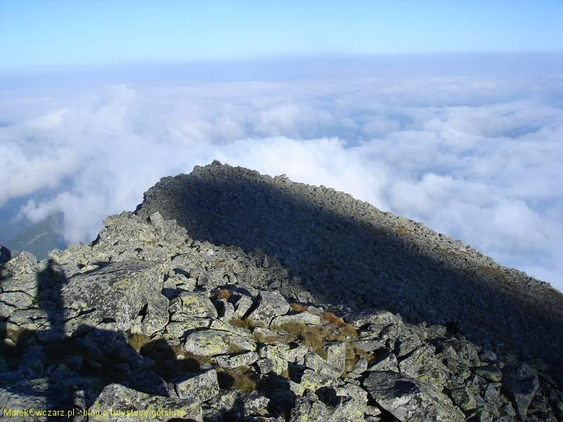 grzbiet Huncowskiego szczytu