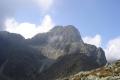 Keżmarskie szczyty widziane z przełęczy pod Świstówką
