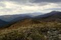 panorama od Wielkiej Rawki przez Czarną Wilchę, po Tarnice