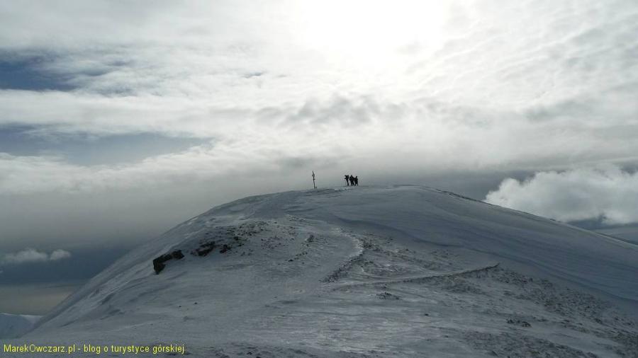 widok na szczyt Kopy Kondrackiej