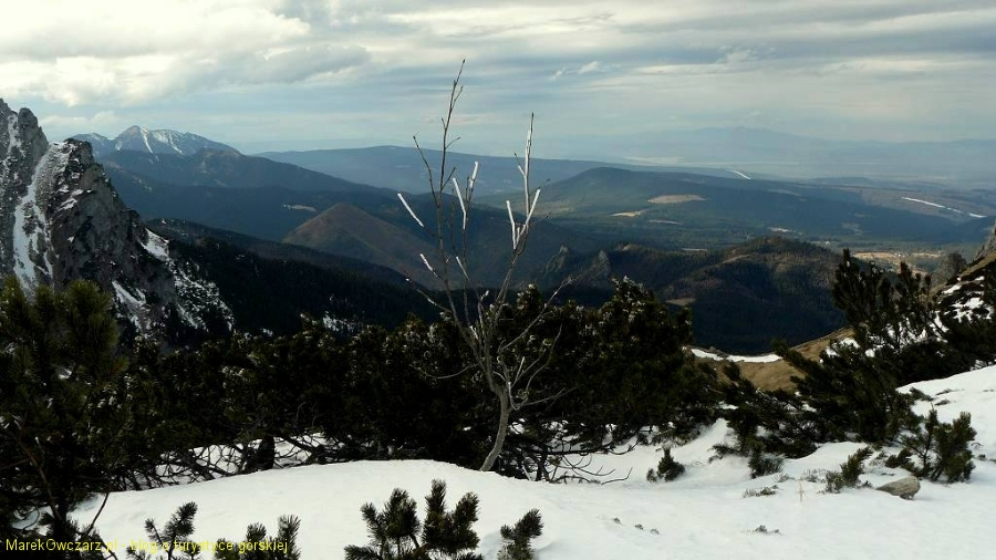 panorama od Osobitej po Pilsko