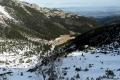 Dolina Kondratowa z góry z Kalacką Kopą w dole