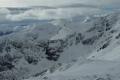 widok na Tatry Zachodnie z zerwami Ciemniaka