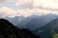panorama Tatr Wysokich z Krzyżnego