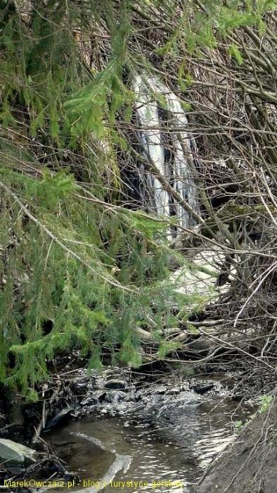kaskada na potoku Regetówka