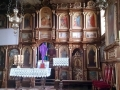 wnętrze cerkwi w Czyrnej