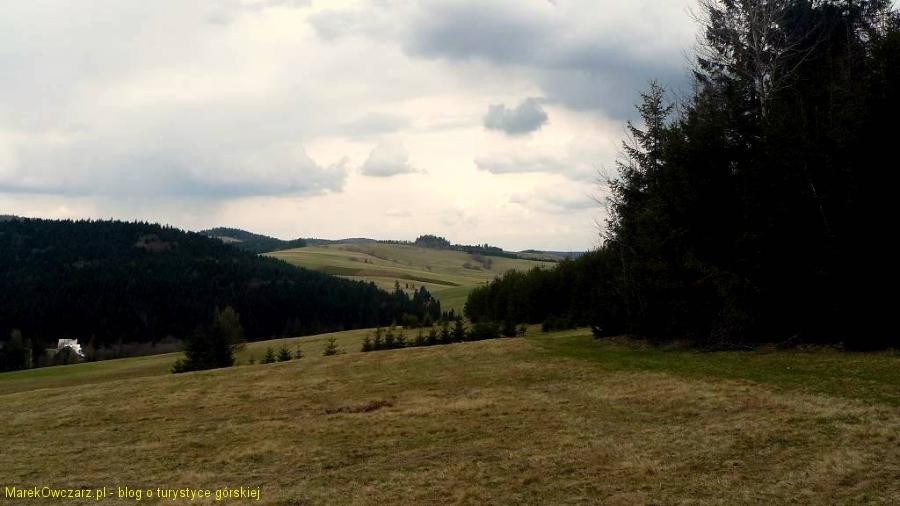 w stronę doliny Mochnaczki