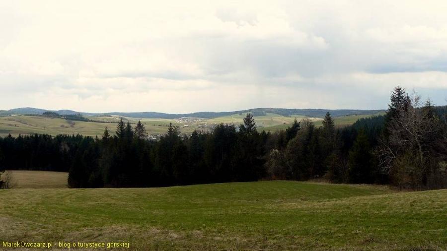 widok na Mochnaczki