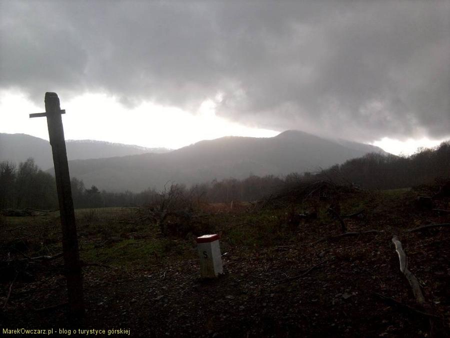 panorama górska w pobliżu Cigelki