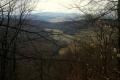 widok z masywu Lackowej na Jaworzynę Krynicką