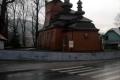 cerkiew prawosławna w Wysowej z 1779r.  typu zachodniołemkowskiego