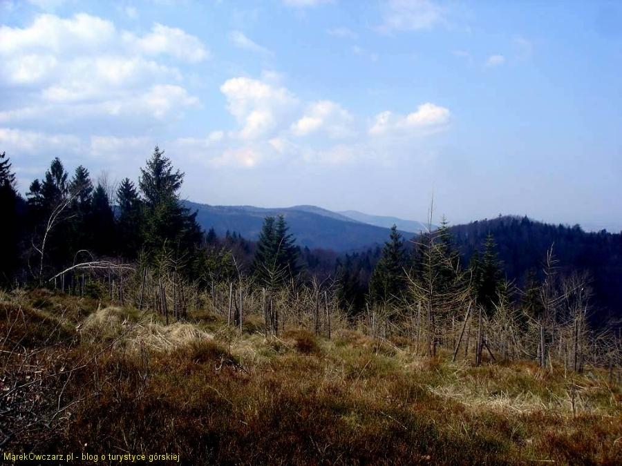 krajobraz Beskidu Małego