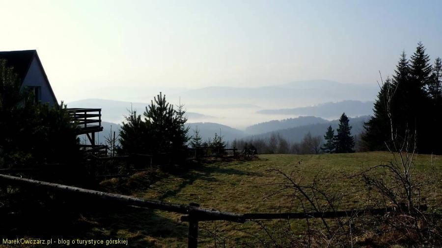 wiosenne mgiełki w Beskidach
