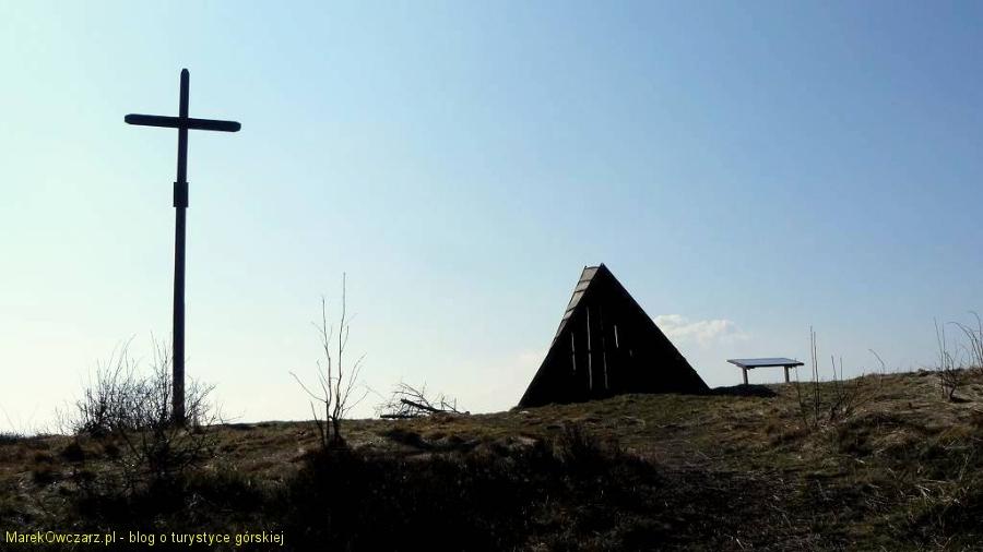 na wierzchołku Leskowca