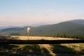 panorama z Rysianki na Pilsko, z prawej