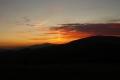 słońce nad Babią Górą