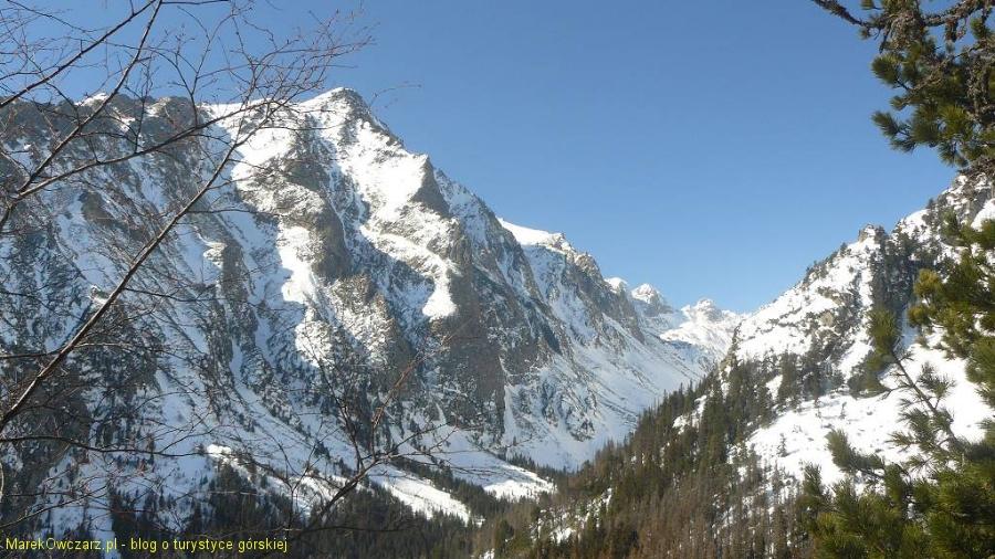 Sławkowski szczyt z doliną Staroleśną