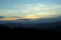 zachód słońca z Kudłaczy