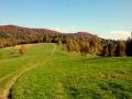 szczyt Korbani nad przełęczą Hyrcza