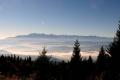 mgiełki pod Tatrami widziane z Lubania
