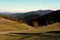 widok na dolinę potoku Ochotnicy