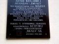 tablica ku pamięci żołnierzy AK w tym regionie