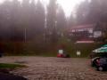 parking przy zakopiance w Naprawie