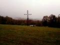 krzyż na polanie