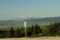 panorama Tatr spod Oślego Wierchu