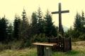 w Bachledowej Dolinie przy krzyżu