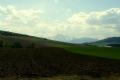 panorama Tatr Wysokich z drogi na Magurską przełęcz